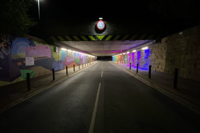 Mirfield Underpass is open to the public!